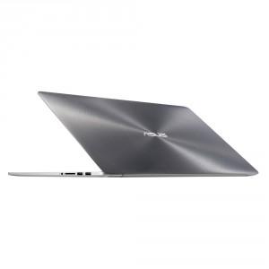 ASUS Zenbook Pro15,6 UHD UX501JW-FI547T - Ezüst - Windows® 10 64bit Intel® Core™ i7-4720HQ - 2,60GHz, 8GB, 256GB SSD, Nvidia® GTX 960M 4GB, Háttérvilágítású billentyűzet, Carry bag & USB2.0 to RJ45 cable + mDP to VGA cable, Matt kijelző