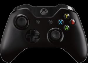 MS Játékvezérlő Xbox One Vezeték nélküli controller Fekete