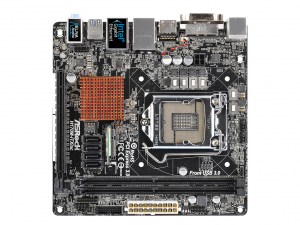 ASRock s1151 H170M-ITX/AC Alaplap