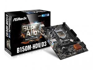 ASRock s1151 B150M-HDV/D3 Alaplap
