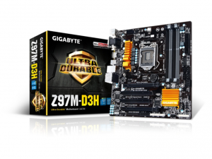 Gigabyte s1150 GA-Z97M-D3H Alaplap