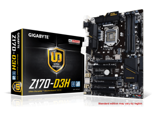 Gigabyte s1151 GA-Z170-D3H Alaplap