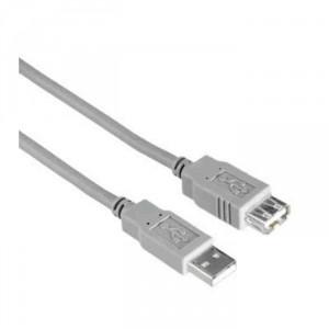 Wiretek USB hosszabbító A-A 1,8M male/female