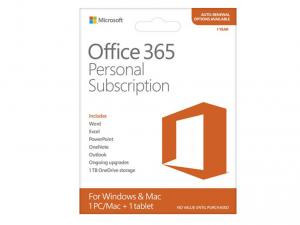 MS Office 365 Előfizetés (Egyszemélyes verzió) Termékkód kártya (ESD) - Letölthető