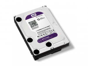 Western Digital Purple 3,5 SATA3 1,0TB/64MB Merevlemez