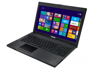 ASUSPRO ESSENTIAL PU551, 15.6 HD LED, Intel® Core™ i3 Processzor 4010U, 4GB, 500GB HDD, Intel® HD, WINDOWS 8.1 PRO, FEKETE