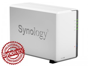 Synology DiskStation DS216se 2-lemezes NAS (800 MHz CPU, 256 MB RAM)