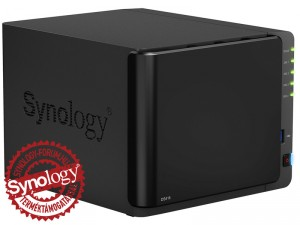 Synology DiskStation DS416 4-lemezes NAS (2×1,4 GHz CPU, 1 GB RAM)