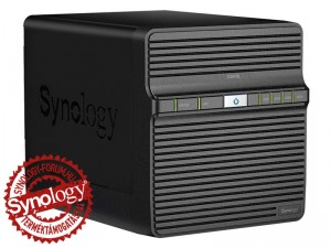Synology DiskStation DS416j 4-lemezes NAS (2×1,3 GHz CPU, 512 MB RAM)
