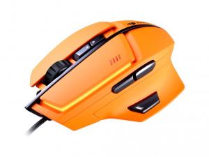 Cougar 600M Lézer Gaming narancs egér