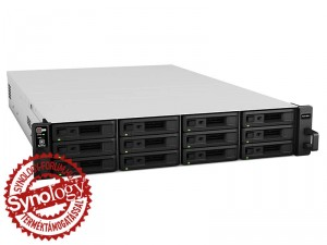 Synology RackStation RS2416+ 12-lemezes NAS (2×2,4 GHz CPU, 2 GB RAM)