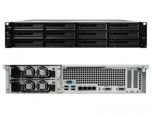 Synology RackStation RS3614xs+ 12-lemezes NAS (4×3,3 GHz CPU, 8 GB RAM)