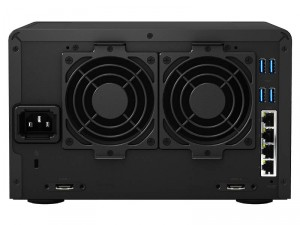 Synology DiskStation DS1515+ 5-lemezes NAS (4×2,4 GHz CPU, 2 GB RAM)