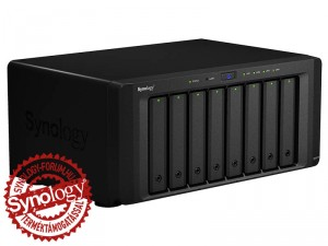 Synology DiskStation DS1815+ 8-lemezes NAS (4×2,4 GHz CPU, 2 GB RAM)