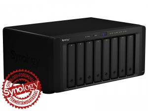 Synology DiskStation DS2015xs 8-lemezes NAS (4×1,7 GHz CPU, 4 GB RAM)