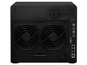 Synology DiskStation DS3615xs 12-lemezes NAS (2×3,4 GHz CPU, 4 GB RAM)