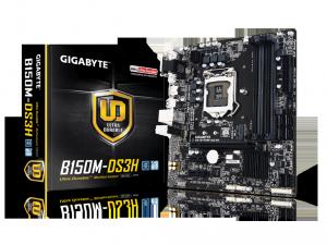 Gigabyte s1151 GA-B150M-DS3H Alaplap