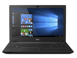 ACER ASPIRE F5-571-38J5 15.6 HD, Intel® Core™ i3 Processzor-5005U, 4GB, 1TB HDD, DVD, Intel® HD GRAPHICS 520, NO OS, FEKETE