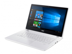 ACER ASPIRE V3-372-51JQ 13.3 HD, Intel® Core™ i5 Processzor-6200U, 8GB, 256GB SSD, Intel® GRAPHICS 520, NO ODD, NO OS, FEHÉR