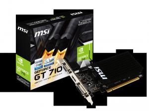 MSI Videókártya PCIe NVIDIA GT 710 2GB DDR3