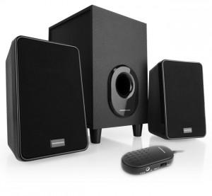 Modecom 2.1 MC-S1- Fekete hangszóró