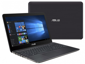 Asus X556UB-XO164D notebook barna 15.6 HD fényes Core™ i7-6500U 4GB 1TB NVIDIA GeForce 940M /2GB DOS