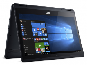 Acer Aspire 14,0 FHD IPS Multi-touch R5-471T-57UP - Fekete - Windows® 10 Home Intel® Core™ i5-6200U - 2,30GHz, 8GB DDR3 1600MHz, 256GB SSD, Intel® HD Graphics 520, WiFi, Bluetooth, HD Webkamera, Windows® 10 Home, Fényes Kijelző