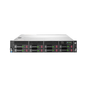HP RACK SZERVER PROLIANT DL80 G9 (6C E5-2603V3 1.6GHZ, 8GB, NOHDD, H240, 1X800W)