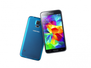 Samsung Galaxy S5 Mini okostelefon - 16GB - Electric Blue