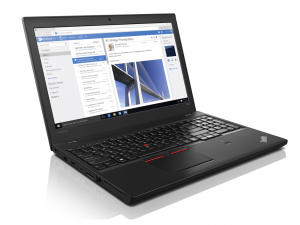 LENOVO THINKPAD T560, 15.6 FHD, Intel® Core™ i7 Processzor-6600U (3.40GHZ), 8GB, 256GB SSD, WIN7 PRO/WIN10 PRO, TPM, FP, Smart Card reader