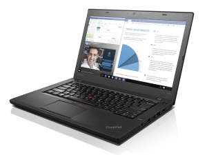 LENOVO THINKPAD T460, 14.0 FHD, Intel® Core™ i5 Processzor-6200U (2.80GHZ), 4GB, 500GB + 8GB SSHD, WIN7 PRO/WIN10 PRO, Smart Card reader, TPM, FP, Háttérvilágítású bill.