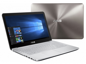 Asus N552VW-FW053T notebook ezüst 15.6 FHD i5-6300HQ 8GB 1000GB GTX960 2G Win10
