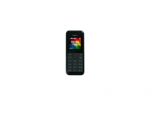 Microsoft 105 Cellular Phone - 2G - Bar - Black
