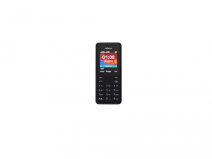 Microsoft 108 Cellular Phone - 2G - Bar - Black