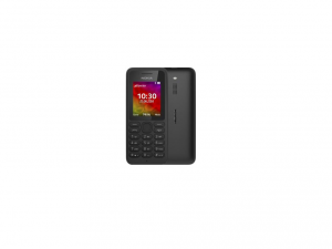 Microsoft 130 Cellular Phone - 2G - Bar - Black