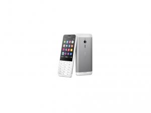 Microsoft 230 Cellular Phone - 2.75G - Bar - Light Silver