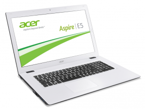 ACER ASPIRE E5-773G-34AJ 17.3 HD+ LED, Intel® Core™ i3 Processzor-6100U, 4GB, 500 GB HDD, DVD, GEFORCE GT 940M, NO OS, FEKETE-FEHÉR (214594)