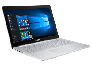 Asus ZenBook Pro UX501VW-FW149T 39.6 cm (15.6) Notebook - Intel® Core™ i7 Processzor i7-6700HQ Quad-core (4 Core) 2.60 GHz - ezüst, Win10 , i7-6700HQ, 8GB, 256GB SSD, GTX 960 4GB FHD