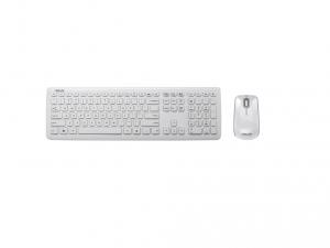SUS Desktop W3000 - Magyar kiosztás + egér - vezetéknélküli - fehér