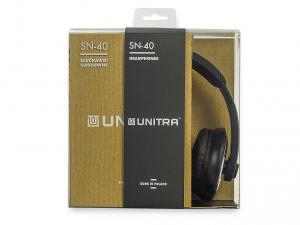 Unitra SN-40CH fejhallgató - Fekete
