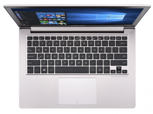 ASUS Zenbook 13,3 FHD UX303UB-R4075T - Rózsaarany - Windows® 10 64bit Intel® Core™ i5-6200U (3M Cache, up to 2.80 GHz), 8GB, 256GB SSD, Nvidia® 940M 2GB, Háttérvilágítású billentyűzet, Sleeve & Cable, Matt kijelző