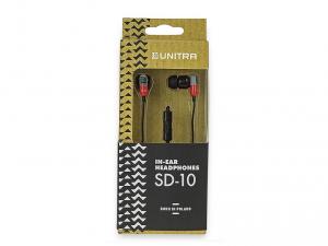 Unitra SD-10SZ fülhallgató - Piros/Szürke