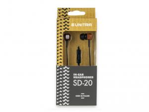 Unitra SD-20DR fülhallgató - Fa