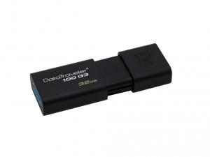 Kingston DT100G3 32GB USB3.0 - Fekete