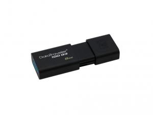 Kingston DT100G3 8GB USB3.0 - Fekete