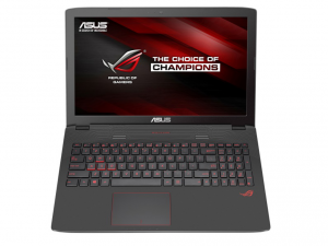 Asus GL752VW-T4003T szürke 17.3 FHD, Intel® Core™ i7 Processzor-6700HQ, 8GB DDR3 , 1000GB , NV GTX 960 2GB , HD webcam, DVD Super Multi DL, 802.11bgn wlan, BT,4CELL 48WH, Win 10