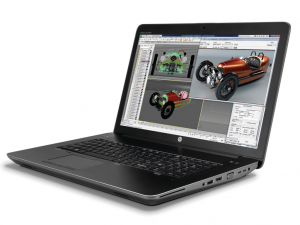 HP ZBOOK 17 G3 17.3 FHD XEON-1535M 2.9GHZ, 32GB, 256GB SSD, NVIDIA QUADRO M3000M 4GB, WIN 7/10 PROF.