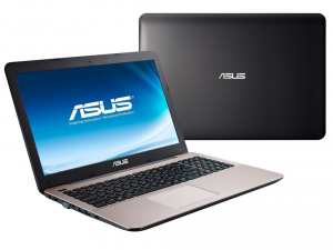 Asus X555UA-XX205T 39.6 cm (15.6) Notebook - Intel® Core™ i5 Processzor i5-6200U Dual-core (2 Core) 2.30 GHz, barna, 4gb, 1TB, HD Graphics 520, HD, Win10H
