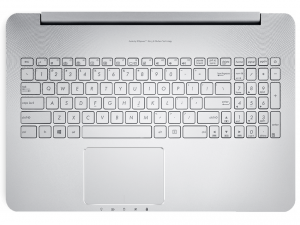Asus VivoBook Pro N752VX-GB136D 43.9 cm (17.3) (In-plane Switching (IPS) Technology) Notebook - Intel® Core™ i7 Processzor (6th Gen) i7-6700HQ Quad-core (4 Core) 2.60 GHz - Grey - 8 GB DDR4 SDRAM RAM - 1 TB HDD - DVD-Writer - NVIDIA GeForce GTX 950M 4 GB DDR3 SDRAM,