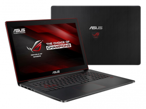 ASUS 15,6 FHD G501VW-FW151T - Fekete - Windows® 10 Home Intel® Core™ i7-6700HQ /2,60GHz - 3,50GHz/, 8GB 2133MHz, 1TB HDD, Nvidia® GTX960M 4GB, Wifi, Bluetooth, Webkamera, Windows® 10 Home, Háttérvilágítású billentyűzet, USB3.0 TO RJ45 Cable, Matt kijel